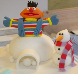 Ernie en Sneeuwpop
