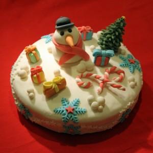 Glutenvrije Kersttaart 2011
