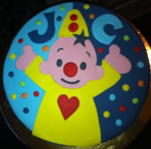 Glutenvrije Bumba taart