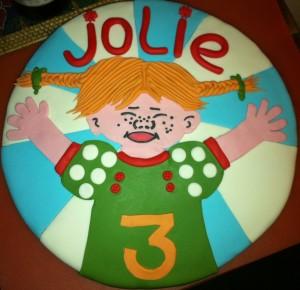 Glutenvrije Pippi taart