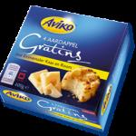 Glutenvrije Aviko aardappel-gratins-met-emmentaler-kaas-en-room