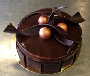 Chocolade droomtaart